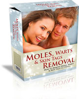 moles warts and skin tags removal system (the book)